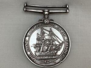 Naval Long Service & Good Conduct Medal -J.91177 S.C.HATCHER.PO.H.M.S EXCELLENT