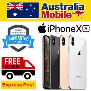Apple iPhone XS 64G 256GB 512GB AS NEW EXCELLENT UNLOCKED SMARTPHONE AU STOCKED
