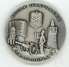 Ecole d'Artillerie Draguignan Médaille de table Diamètre 65 mm