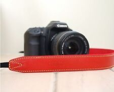 CIESTA Leather Strap CSS-L30[Red/Yellow]Shoulder Neck D-SLR RF Mirrorless Camera