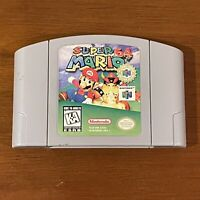 Super Mario 64 Authentic Nintendo 64 N64 Video Game Cartridge Only TESTED WORKS!