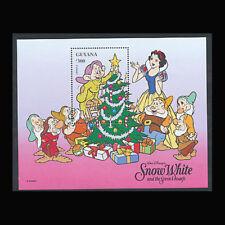 Guyana, Sc #3117, MNH, 1996, S/S, Disney, Snow White, Christmas, 1FFDD