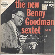 The New Benny Goodman Sextet, Columbia B-1845, v3