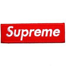 Supreme Punk Rock Music Skateboard Boarding Extream Sports Shirt Iron on Patch