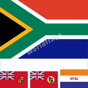 South Africa Flag 3X5FT Historical British Red Blue 1910 1912 Army Royal Banner