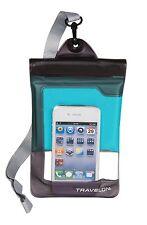 Travelon Waterproof Smart Phone Pouch Blue 12505-330
