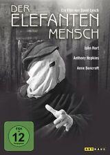 Der Elefantenmensch David Lynch Anthony Hopkins John Hurt DVD Nuevo
