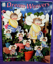 Dream Weavers Tole Painting Pattern Book by Pam Hancock Gardening Fairy Angels
