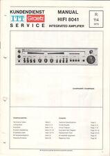 ITT GRAETZ - HIFI 8041 - Service Manual Schaltplan - B6496
