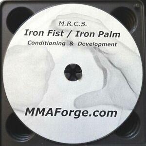 Iron Fist Iron Palm Kung Fu Karate Training Instructional Martial Arts DVD Video