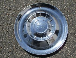 One genuine 1955 Mercury Medalist Monterey 15 inch hubcap wheel cover