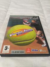Virtua Tennis Sega Profesisional Tennis PC Cd-Rom FX Interactive Precintado