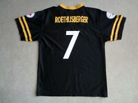 Youth NFL Pittsburgh Steelers Ben Roethlisberger Football Jersey Size XL (18-20)