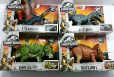 Jurassic World Roarivores Allosaurus/Sinoceratops/P teranodon/Triceratops Lot