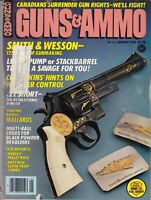 Magazine GUNS & AMMO January 1978 !!! SMITH & WESSON 125th ANNVERSARY GUNS !!!