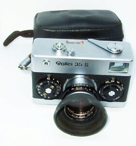 Rollei 35 SE Kompaktkamera Sonnar 2,8/40 Rollei-HTF Objektiv + Tasche+Filter