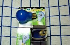 BOX of 4} Grow Light bulb 60 watt A19 plant lite 60w daylight blue 60A19 regular