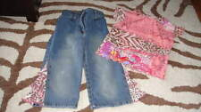 BOUTIQUE SARA SARA 4 3T 4T DENIM CAPRI TOP SET SWEET