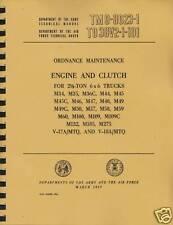 TM9 8023-1 ~ M35, M44 ~ Gas 6X6 2.5 Ton ~  Engine Manual ~ Reprnt