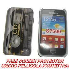 Pellicola + Custodia BACK RIGIDA CD ONE per Samsung Galaxy Ace Plus S7500