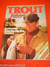 TROUT FISHERMAN - CUTTHROATS - DEC 1979