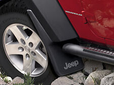 Jeep Wrangler JK 2007-2018 Mopar Splash Guards Mud Flaps OEM  REAR SET 82210232
