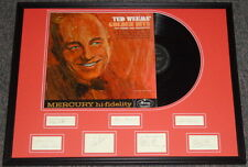 Ted Weems Band Signed Framed Golden Hits Record Album Display