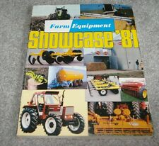 1981 Farm Equipment Showcase Farming Industry Tractor Machinery Publicaation