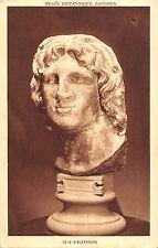 BR71049 tete d alexandre postcard sculpture greece