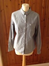 JACK WILLS LIGHT BLUE CLASSIC SHIRT UK SIZE 12 RRP £44.50 NEW WITH DEFECT