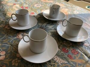 Thomas China 4x coffee cup and saucers