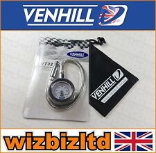 VENHILL Professional Stainless Motorbike Tyre Pressure Gauge (0 - 60psi) VT32