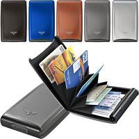 TRU VIRTU Aluminium Kreditkarten Etui Visitenkarten ec Kartenetui Card Case Neu