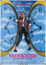 Clockwise John Cleese Original-Filmplakat