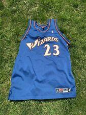 Michael Jordan Washington Wizards Nike Jersey Size 56 Blue Authentic Pro Cut