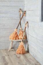 Mud Pie H0 Halloween Home Decor 33'' H Witch Broom 42600558 Choose Design