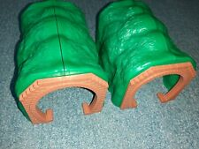 2 X Tomy Trackmaster Thomas The Tank Engine & Friends Green Tunnels