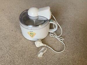 Philips Ice Cream Maker model HR2303/04, pre owned