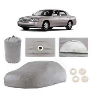 Lincoln Town Car L 5 Layer Car Cover Fit Outdoor Water Proof Rain Sun Dust Snow