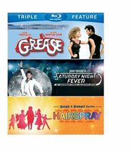 NEW Grease/Saturday Night Fever/Hairspray (3FE)(BD) [Blu-ray]