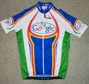Hincapie Cycling Jersey Google Size XL