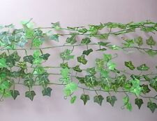 Set of 6 Artificial Ivy Leaf Vines Hangings Garland Wedding Decortion