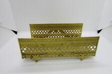 Vintage Gold Filigree Ormolu Rose Tissue Holder Kleenex Vanity Box
