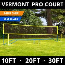 Vermont ProCourt Combi Net   MINI TENNIS/BADMINTON – Portable Kids Garden Net