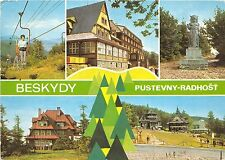 B45271 Beskydy Pustevny Radhost cable train tele ski multiviews   czech