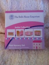Dolls House Emporium Junior Collection 1:12th Scale Pink Nursery Set