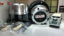 LAND Rover Serie 2 2a 3 Paio Nuovo OEM AVM Fairey Ruota HUBGibsonNichelStopbar-placcaturaavanzato