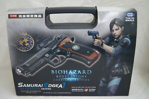 Jill valentine model Resident Evil Bio Hazard Tokyo Marui SAMURAI EDGE A1