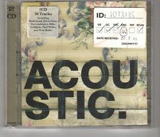 (HH923) Acoustic, 36 tracks various artists - 2002 double CD