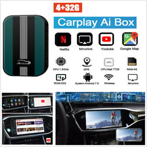 Carplay Ai Box Car Multimedia Player 4+32G Android System Wireless Mirror link
